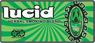 Lucid herbal smoking blend